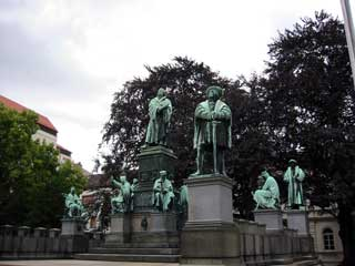 Lutherdenkmal in Worms!